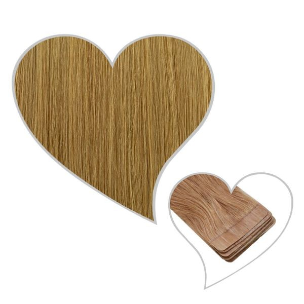 10 Tape-Extensions 60cm chai-blond#15
