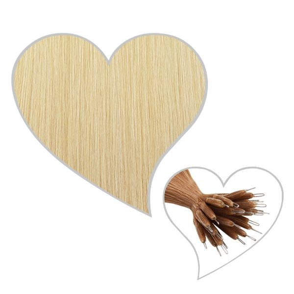 25 Nanoring-Extensions 60cm champagnerblond#22