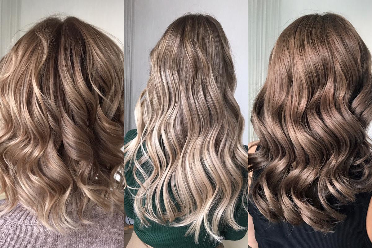 Blond balayage braun 20 Trendige