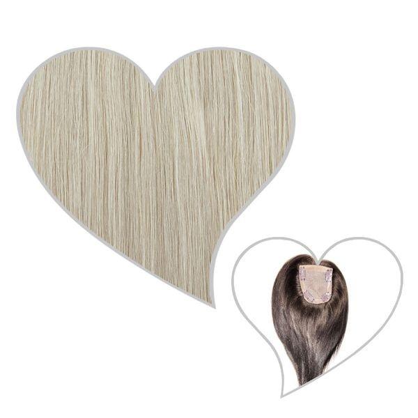 Oberkopf-Haarteil silver-white