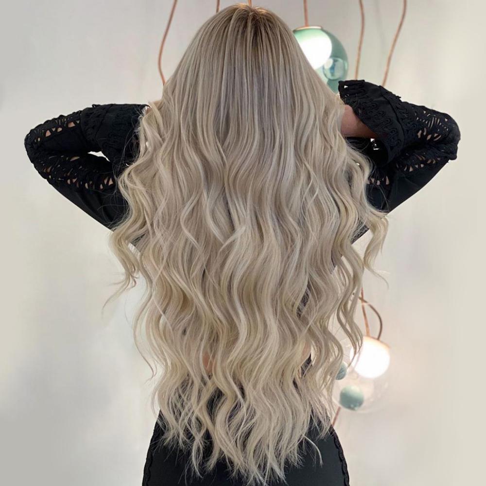 Strähnchen hellen aschblond mit chaderemal: Haarfarbe