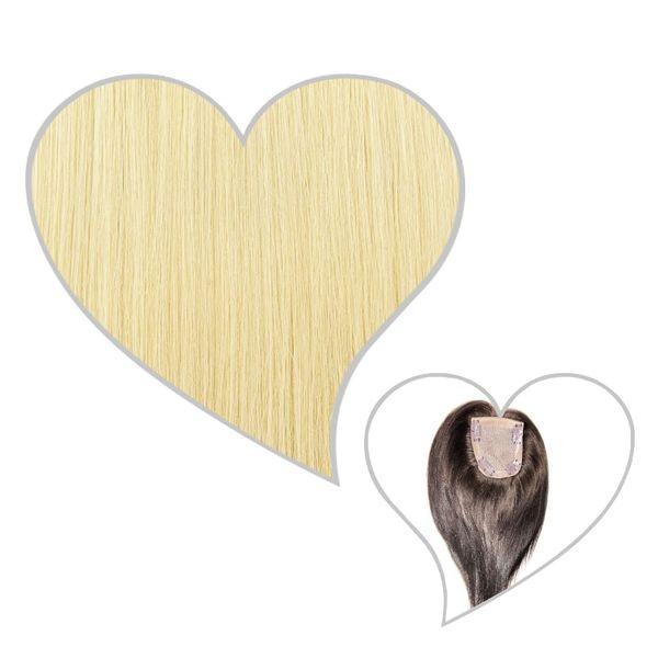 Oberkopf-Haarteil platinblond#60
