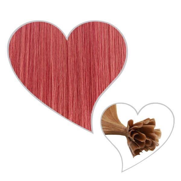 25 Strähnen 35cm rosa#C10
