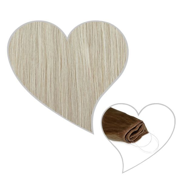 Easy Flip Extensions 40cm silver-white