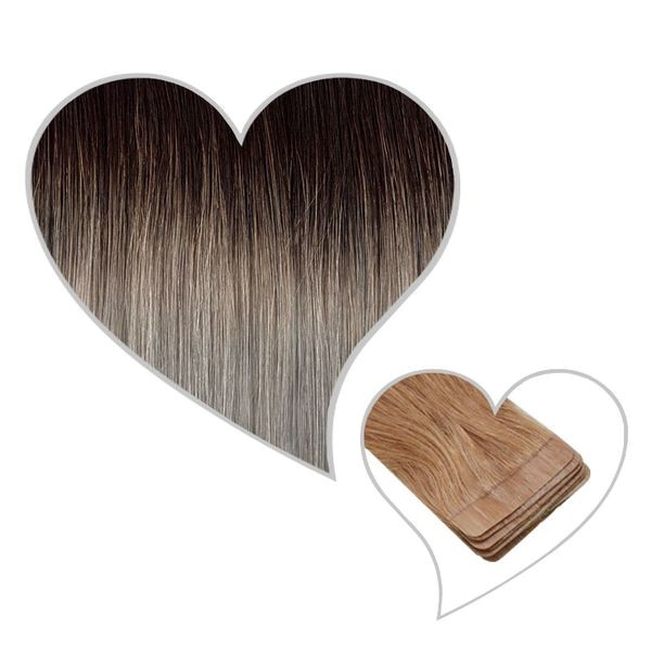 10 Tape-Extensions 60cm root#1B/HG